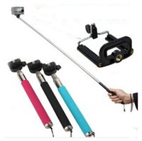 Wholesale Adjustable Extendable Handheld Monopod For Gopro Hero Camera SJ4000