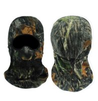 Wholesale Camo Biomimicry cabelas Camouflage fleece wigs camouflage fleece hat windproof thermal hunting cap