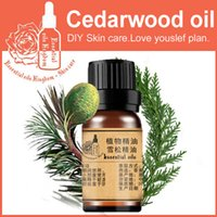 Wholesale 100 pure plant essential oils Cedarwood oil ml Morocco imports Convergence pores Hemostasis Improve acne oily skin Cedar oil