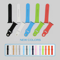 Wholesale 2015 new arrival band for apple watch strap band adapter original for apple watch sport wrist silicone band