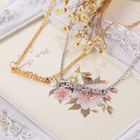 best contract - 2015 New Arrival Fashion quot Best Friend quot Letters Alloy statement necklaces Pendant Necklace Contracted style jewelry best High quality gifts