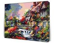 best acrylic paints - he Best DIY Digital Oil Painting Acrylic Paint By Numbers Unique Gift Decoration