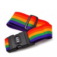 Wholesale Password Lock Box Bundled with Rainbow Color Black cm Can be free to adjust Metal Buckle High Quality AB006
