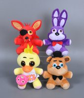 baby rabbit games - cm Catoon Five Nights at Freddy s Stuffed plush toy soft Bear fox rabbit duck doll model baby kids birthday gift