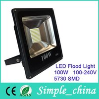 Wholesale 2015 Hot Sale Rushed Outdoor Led Floodlight Ip66 w Flood Light Waterproof Wash v Street Lamp Luminaire Tunnel Lights Energy Saving