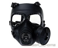 Wholesale Airsoft Anti Fog Turbo Fan System Full Face Protector Gas Mask Wargame Paintball