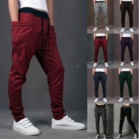 Wholesale Joggers Pants For Boys S5Q Track Sweat Pants Basketball Sport Jogging Pants Hip Hop Gym Jogger Dance Slacks Harem Baggy Sweat Pants AZALEA