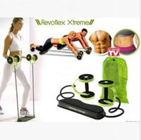 abdomen machines - Revoflex Xtreme Fitness Abdomen Machine Fitness Equipment Abdominal Slim Trainer AB Trainer Body Slimming Exercise Bands Rope LJJE195