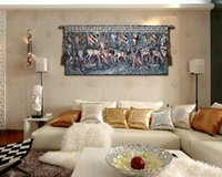 Wholesale New Arrival Cotton Hanging Tapestry Horse Design