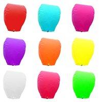 Wholesale 30pcs kong ming deng Flying Sky Lanterns Wishing Lanterns Chinese Wish Light hot