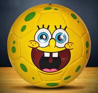 Wholesale Cartoon style soccer ball For Children size soccer ball kids football balls indoor football