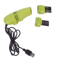 Wholesale USB Mini Vacuum Cleaner Green