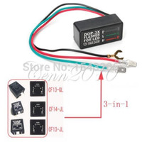 Wholesale Universal Pin Motorcycle V LED Turn Signal Light Flasher Blinker Relay small order no tracking