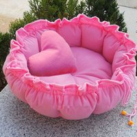 Wholesale Pet Cute Kennel Nest Puppy Warm Dogs Cat Bed Cute Sleeping Bag House Cushion Mat