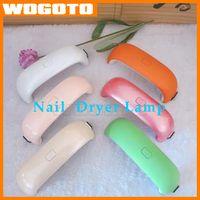 Wholesale Fashion Nail Dryers W LED Mini Curing Lamp UV Gel Nail Polish Electric Nail Dryer Rainbow Shaped Machine
