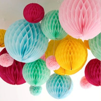 paper flower balls for party