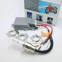 other bi xenon headlights - 1 set universal hid xenon motorcycle headlight Hi Lo motorbike H6m H6 H4 bi xenon motorcycle hid kit