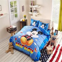 baby bedding discount - White And Blue Baby Mickey Mouse Bedding Set Discount Luxury Bedding Mickey Mouse Kids Bedding
