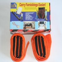 Wholesale DHL FREE Moving Straps Forearm Delivery Transport Rope Belt Home Carry Furnishings Easier Furniture Carry Tools Pack