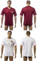 Wholesale 2016 European Cup Russia Home Away Soccer Jersey Men s Football Uniform Shirt Custom Name And NO