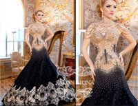 Cheap Reference Images Mermaid Evening Dresses Best High Neck Jersey Floor Length Evening