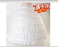 ball p - In Stock Cheap Medium Size White Bridal Crinoline Comfortable Ball Gown Wedding Dress Petticoats Bridal Accessories P