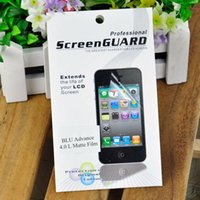 advance package - Matte Film For BLU Advance L Cell Phone LCD Screen Protector Cleaning Cloth With Retail Package