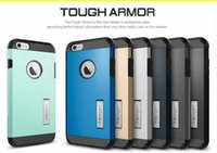 Wholesale SGP Stand Case for quot iPhone Plus Luxury Tough Armor Bracket Back Cover Shell Without Retail Packaging