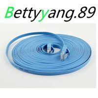 Wholesale 1m FT CAT6 CAT Flat UTP Ethernet Network Cable RJ45 Patch LAN cable