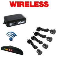 Wholesale Wireless Car Parking Sensors Car Backup Radar System Kits New Durable Car Accssories Professional video car parking radar system