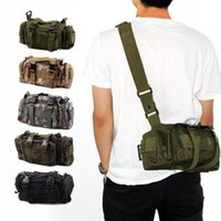 Wholesale Camouflage Tactical Military Bags with Shoulder Belts Waterproof Molle Modular Outdoor Bags for Hunting Hot Sale OT0006