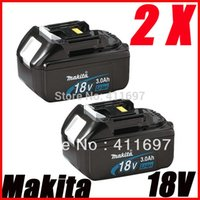 Wholesale NEW Makita BL1830 v a li ion battery for power tool high capacity order lt no track