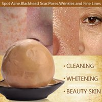 Wholesale Best Face Skin Care Chinese Herbal Natural Rose Essence Facial Soap g Whitening Acne Treatment Blackhead Remove Anit Wrinkle