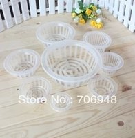 Wholesale MIX White Engraftment basket x25mm planting bar nursery pots good quality