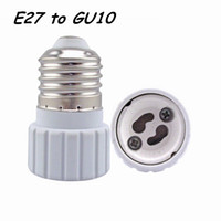 bayonet base - 40pcs E26 E27 Edison Screw to GU10 Bayonet Base Adapter Lamp Socket led Bulb Lamp Holder Converter