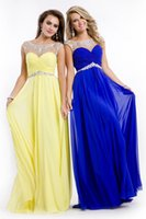 best convertible - 2016 Best selling In Stock fast shipping A line chiffon bridesmaids dresses with cap sleeves sequins beaded wedding party prom gowns CPS073