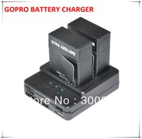 Wholesale 2014 New Arrival Smart Multi Input Dual Charging in Intelligent Battery Charger for Gopro