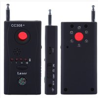 Wholesale CC308 Multi Wireless Camera Lens Detector Radio Wave Signal Detect for Camera Monitor Full range WiFi RF GSM Device Finder