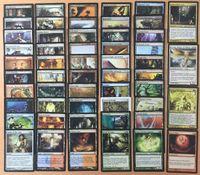 magic deck - Magic The Gathering Modern Set BLUE CORE Deck MTG Proxy board game cards