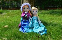 Girls 3-4 Years Push 1:1 best frozen doll 50cm 20 inch frozen elsa anna toy doll action figures plush toy frozen dolls Christmas Gift original quality