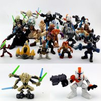 hasbro - 2016 Hasbro Star Wars Mini Action Figures Capsule toys Cartoon Anime Starwars dolls dolls dolls produced ornaments cm Children s gift