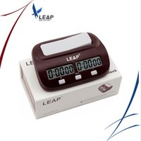 Wholesale LEAP Professional Compact Digital Chess Clock Count Up Down Timer Electronic Board Game Bonus Competition Master Tournament