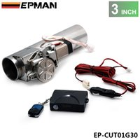 Wholesale EPMAN Universal quot Exhaust Pipe Electric I Pipe Exhaust Electrical Cutout with Remote Control Valve EP CUT01G30