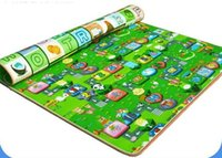 Wholesale Play Mat Hot Sale Baby Play Mat Fruit letter Animal car Kids Children Picnic Beach Mat Baby Crawling Mat