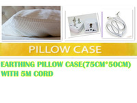 antimicrobial fabrics - EARTHING sheet PILLOW CASE Silver Antistatic Fabric For Earthing grounded Antimicrobial Conductive fabric earthing sheet