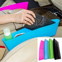 Wholesale Universal Catch Catcher Storage Organizer Box Caddy Car Seat Slit Pocket