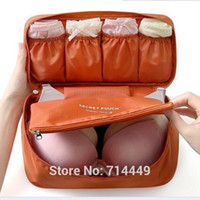 Wholesale Women Makeup Cosmetic Bag Wash Makeup Organizer Sanitary Towel Box Travel Wash Bag Underwear Bra Makeup Secret Pouch A3A5