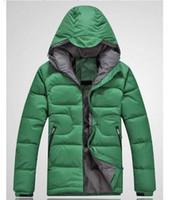 Wholesale Brand Winter Men s white Duck Down Jacket Outdoors Coat Warm Clothing Padded Hooded Waterproof Parkas European Degree