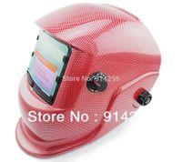 Wholesale Solar Auto Darkening carbon fiber Welding Helmet Arc Tig Arc MAG Mask