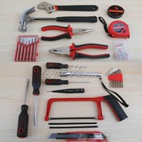Wholesale Portable Household composition toolbox Sets Hardware Car Kits Tool Aid Repair Sets Combination Vehicle